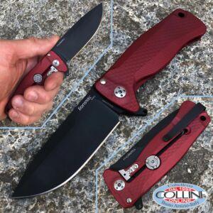 Lionsteel - SR-22 - Red Aluminum and DLC blade - SR22ARB - knife