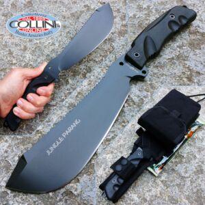 Fox - Jungle Parang knife - Black Idroglider - FX-0107154BB - knife