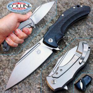 Fox - Shadow Titanium Frame Lock by Bastinelli - FX-533CF - knife