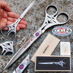 Mcusta - Mod. Fuji professional scissors in VG-10 Damascus - DDC-170F