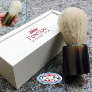 Fontani Scarperia - horsehair brush and ox horn - PCCCO - shaving brush