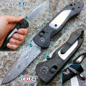 Benchmade - Foray Axis - Gold Class Limited Edition - 698-181 - knife