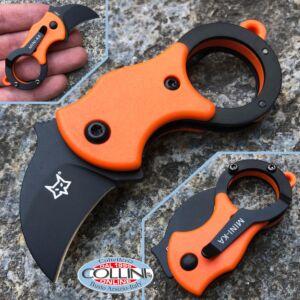 Fox - Mini-Ka - Orange Nylon and Idroglider - FX-535OB - karambit knife