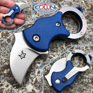Fox - Mini-Ka - Blue Nylon - Sandblasted - FX-535BL - karambit knife