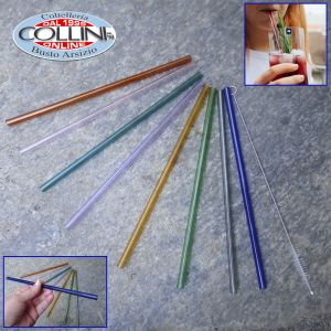 Gefu - FUTURE Glass Straw 8 pcs