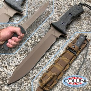 """Chris Reeve - Green Beret 7"""" knife Dark Earth by W. Harsey - 2017 Version - knife"""