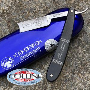 Dovo - Inox Shavette Barbarossa 5/8 ebony razor - 45-581 - cut-throat razor