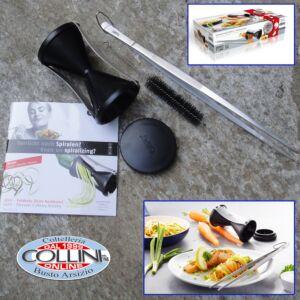 Gefu - Spiral Slicer SPIRELLI + Kitchen Tweezers Set