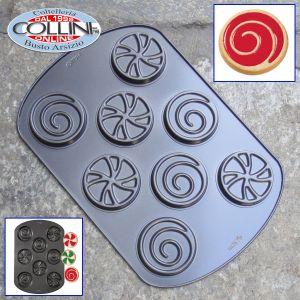 Wilton - Cookie Candy Flow Swirl 8 Cavity Pan