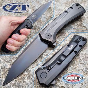 Zero Tolerance - Rexford Folder Black Titanium DLC Sprint Run - ZT0808BLK - knife