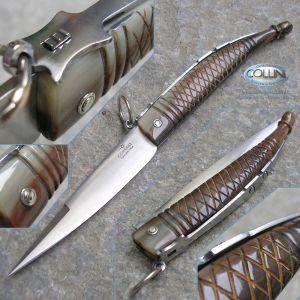 Consigli Scarperia - Romano con anello 30cm - ox horn - 50060 - knife