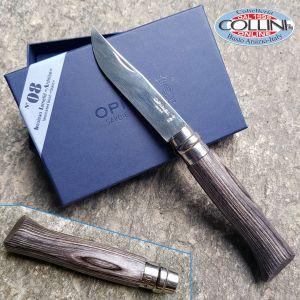 Opinel - N ° 08 Luxe lamellar birch slate - Knife