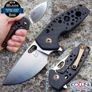 Fox - Suru by Vox - Carbon Fiber & Bronze Titanium - FX-526CF - Knife