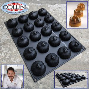 Pavoni - Silikone mould - Marron - by Cedric Grolet