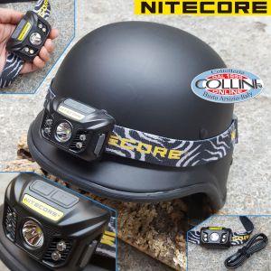 Nitecore - NU32 - Black - LED Headlamp - USB rechargeable - 550 lumens and 125 meters