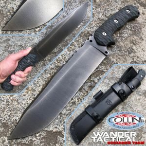 Wander Tactical - Godfather knife - Bowie Iron Washed Custom Edition - knife