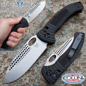 Benchmade - 737 Aileron by Steve Tarani - Satin Plain - folding knife