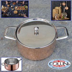 ScanPan - Maitre 'D Copper Dutch Oven, 1.6 quart, Metallic