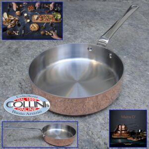 ScanPan  -Maitre 'D Copper Saute Pan, 0.8 quart, Metallic