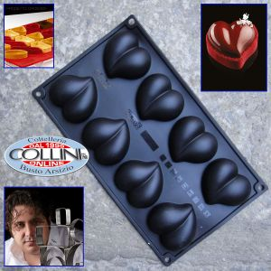 Pavoni - Silicone Mould  PX3206 HEART