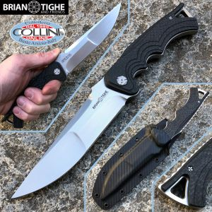 Brian Tighe and Friends - Tighe Fighter Large Fixed Carbon Fiber - 1104-1 - knife