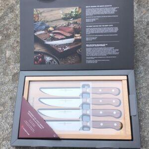 Wusthof Germany - Steak Set knives - Set of 4 steak knives - 953403 - table knives
