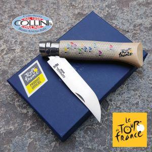 Opinel - No. 08 Tour de France 2019 Sublimé - hornbeam wood - knife