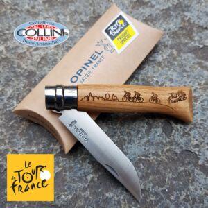 Opinel - No. 08 Tour de France 2019 Gravure - beech wood - knife