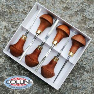 Pfeil - Wood palm gouges - Set 6 pieces - LS B