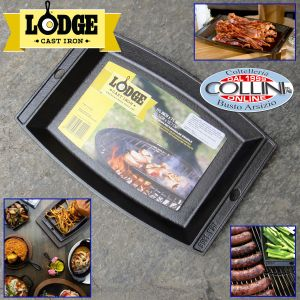 Lodge -  Cast Iron Chef's Sizzlin Platter - induction