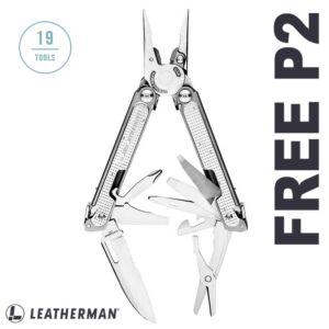 Leatherman - Free P2 - 832524 - multi-purpose pliers