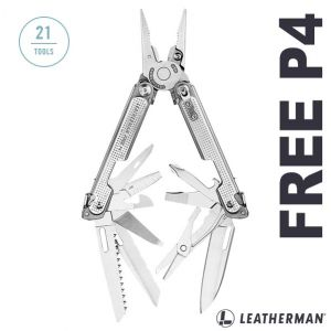 Leatherman - Free P4 - 832642 - multi-purpose pliers