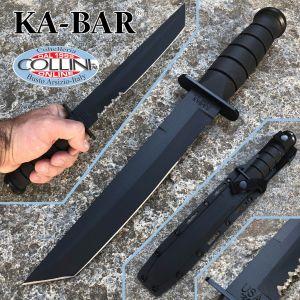 Ka-Bar - Tanto Fighting Knife Combo Blade - 1245 - knife