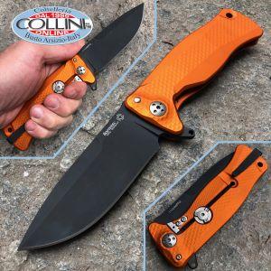 Lionsteel - SR-11 - PVD Alluminio Orange knife - SR11AOB - knife