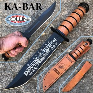 Ka-Bar - USMC 9169 Commemorative Afghanistan Fighting Knife - knife