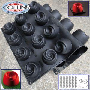 Pavoni - Silicone professional mould PX039 BOCCIOLO Pavoflex