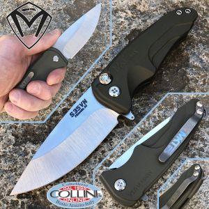 Medford Knife and Tools - Smooth Criminal knife - green aluminum MK039 - knife