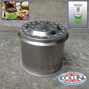 Lotus Grill -  Charcoal Container
