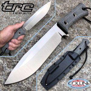 TRC Knives - Apocalypse Knife - Elmax & Black Canvas Micarta - Knife