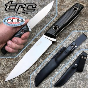TRC Knives - This is Freedom - M390 & Black Canvas Micarta - Knife