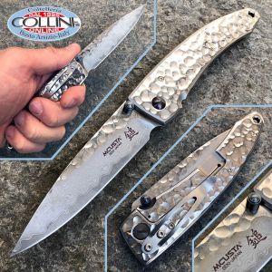 Mcusta - Tsuchi Damascus knife - MC-0114D - Forge Series - knife
