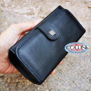 Erbe Solingen - Man shaving and manicure set for traveling - Leather case