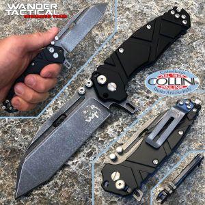 Wander Tactical - Hurricane Folder knife III Generation - Black Aluminum - folding knife