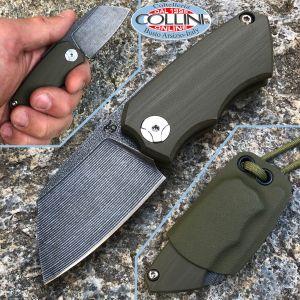 Simone Tonolli - Clutch Friction Folder knife - G10 Green - Craft Knife