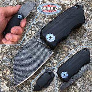 Simone Tonolli - Clutch Friction Folder knife - G10 Black - Craft Knife