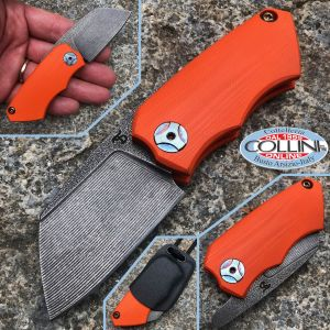 Simone Tonolli - Clutch Friction Folder knife - G10 Orange - Craft Knife