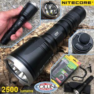 Nitecore - CI7 - Infrared + White Light - 2500 lumens and 279 meters - Led Flashlight