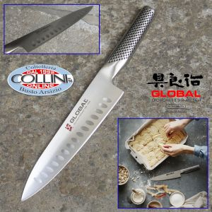 Global knives - GS96AN - Cook's knife honeycombed knife 19 cm - 35th anniversary - ed. limited