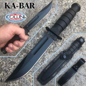 Ka-Bar - USMC Black short knife - 02-1258 - Kydex Sheath - knife