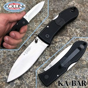 Ka-Bar - Dozier Folding Hunter knife 4062 - Black Zytel Handle - knife